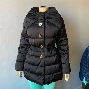 Kate Spade Becky Puffer Down Coat Black Size S